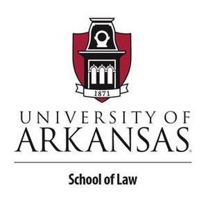 300px university of arkansas school of law logo