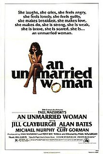 <i>An Unmarried Woman</i> 1978 American comedy-drama film written and directed by Paul Mazursky