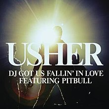 Usher featuring Pitbull — DJ Got Us Fallin' in Love (studio acapella)