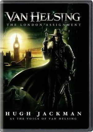 Van Helsing: The London Assignment - DVD cover