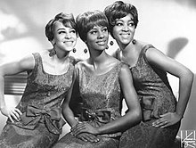 The Velvelettes (from left to right: Sandra Tilley, Carolyn Gill, and Annette McMullen)