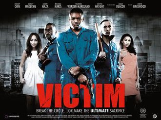 Victim (2011 film) - Theatrical release poster