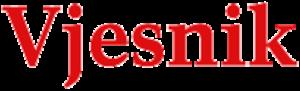 Vjesnik - Image: Vjesnik logo