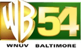 WNUV - WNUV as a WB affiliate from September 1998 until September 2006, the logo displayed here is the station's final logo under the WB affiliation displaying the channel number.