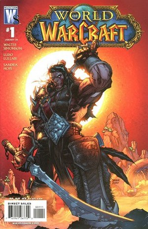 World of Warcraft (comics) - Cover of the first issue
