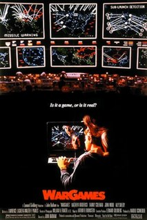 <i>WarGames</i> 1983 American Cold War science fiction film by John Badham