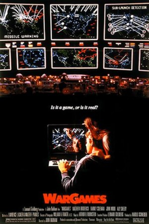WarGames - Theatrical release poster
