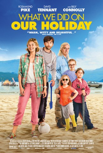 What We Did on Our Holiday - Theatrical release poster
