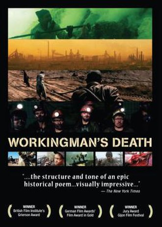 Workingman's Death - DVD cover