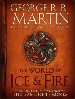 <i>The World of Ice & Fire</i> 2014 book by George R. R. Martin