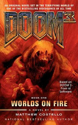 Matthew costello wikivisually doom 3 worlds on fire image worlds on fire fandeluxe