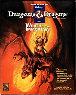 <i>Wrath of the Immortals</i>