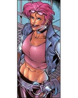 Zarana - Picture of Zarana from Devil's Due Publishing.