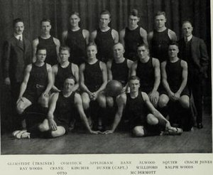 1914–15 Illinois Fighting Illini men's basketball team - Image: 1914 15 Fighting Illini men's basketball team
