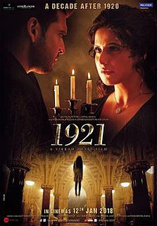 <i>1921</i> (2018 film) 2018 Indian horror film directed and produced by Vikram Bhatt