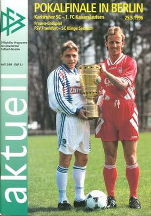 1996 DFB-Pokal Final - Image: 1996 DFB Pokal Final programme