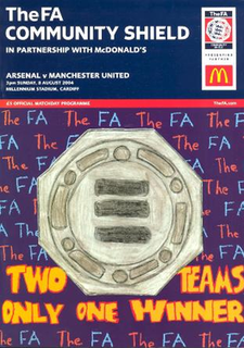 2004 FA Community Shield 82nd staging of the FA Community Shield 2004