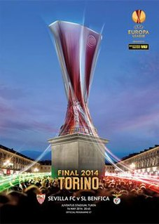 2014 UEFA Europa League Final Football match