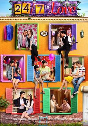 24/7 in Love - Theatrical movie poster
