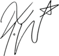 4Minute - Jiyoon's Signature.png