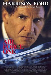 <i>Air Force One</i> (film) 1997 film by Wolfgang Petersen
