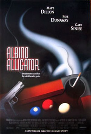 Albino Alligator - Theatrical release poster