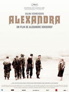 2007 Russian film written and directed by Alexander Sokurov