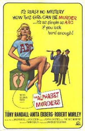 The Alphabet Murders - Theatrical release poster