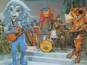 Animal Kwackers - The Animal Kwackers: (from l to r) Rory, Twang, Bongo, and Boots