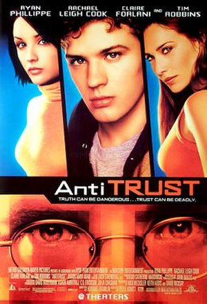 Antitrust (film) - Theatrical release poster
