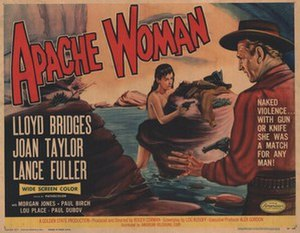 Apache Woman - Theatrical release poster