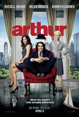 Arthur (2011 film) - Theatrical release poster