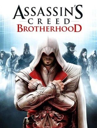 Assassin's Creed: Brotherhood - Image: Assassins Creed brotherhood cover