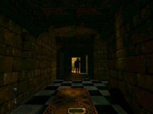 Stealth game - Thief: The Dark Project (1998) was the first stealth game to use a first-person view