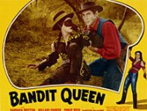 The Bandit Queen (film) - The Bandit Queen with her avenging bullwhip