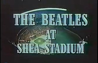 The Beatles at Shea Stadium - Opening title credits for the 1966 concert documentary