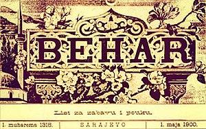 Behar (magazine) - Image: Behar logo
