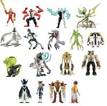 Wave 2 of the 2007 series of single carded figures.