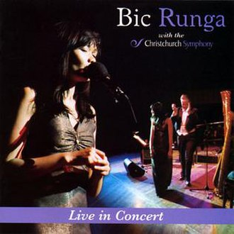 Live in Concert with the Christchurch Symphony - Image: Bic Runga Live in Concert with the Christchurch Symphony