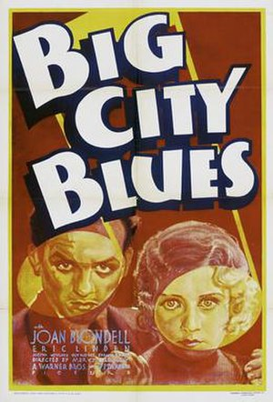 Big City Blues (1932 film) - Theatrical poster
