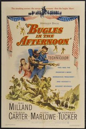 Bugles in the Afternoon - Original film poster