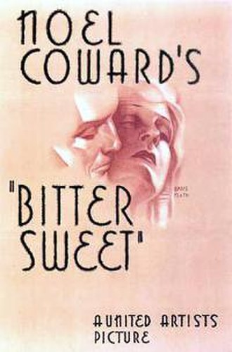 Bitter Sweet (1933 film) - Theatrical release poster