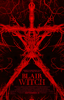 <i>Blair Witch</i> (film) 2016 supernatural psychological horror film directed by Adam Wingard
