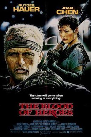 The Blood of Heroes - Theatrical release poster by Enzo Sciotti