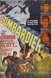 <i>Bombardier</i> (film) 1943 film by Richard Wallace and Lambert Hillyer