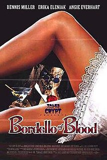 <i>Bordello of Blood</i> 1996 film by Gilbert Adler