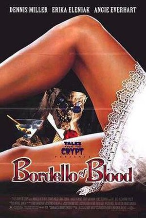 Bordello of Blood - Theatrical release poster