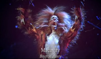 Macavity - Bryn Walters as Macavity in the 1998 film version of Cats