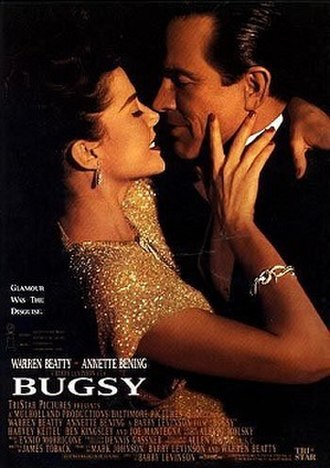 Bugsy - Theatrical release poster