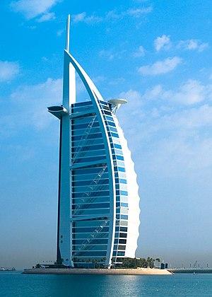 Burj Al Arab - Burj Al Arab in 2007